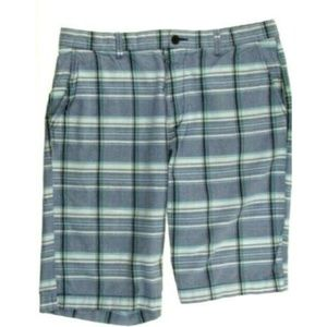 Old Navy Men's 36 Multi Color Plaid Casual Shorts